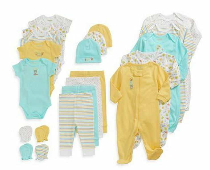 Baby Boy Gift Clothes : Baby unisex clothes piece set months newborn infant