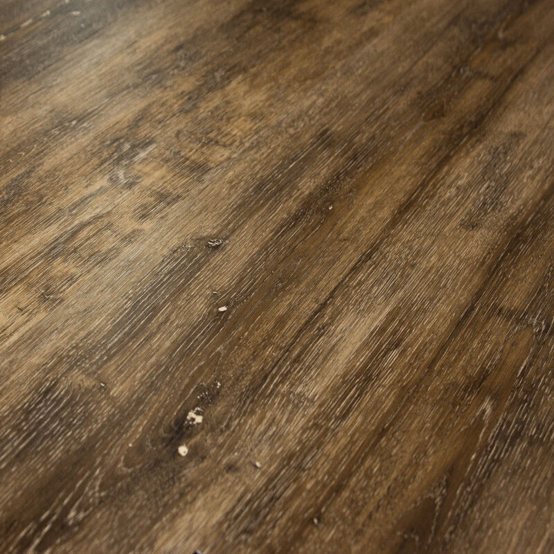Click vinyl plank floor 4mm feather lodge shark plank for Click flooring