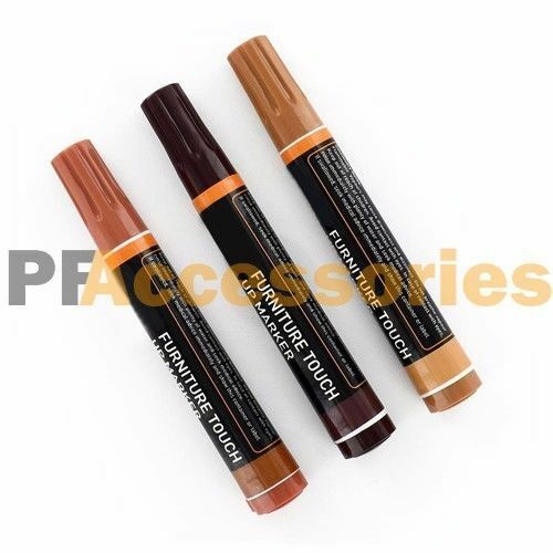 3 Pcs Wood Furniture Repair Markers Touch Up Kit Scratch