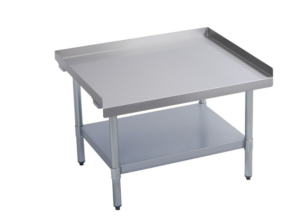Stainless steel commercial restaurant equipment stand 30 for Stand commercial