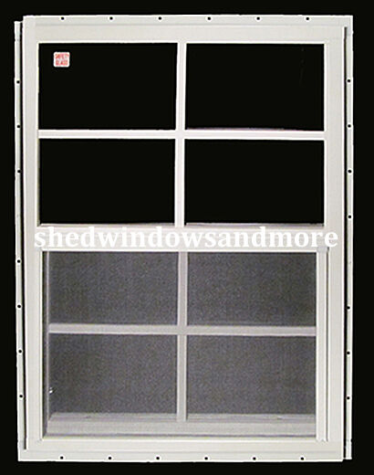 Shed window 12 x 18 white j channel storage shed barn for 12x18 shed window