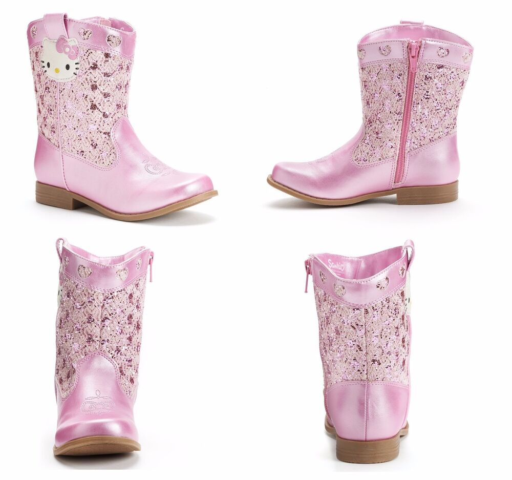 hello kitty boots for girls