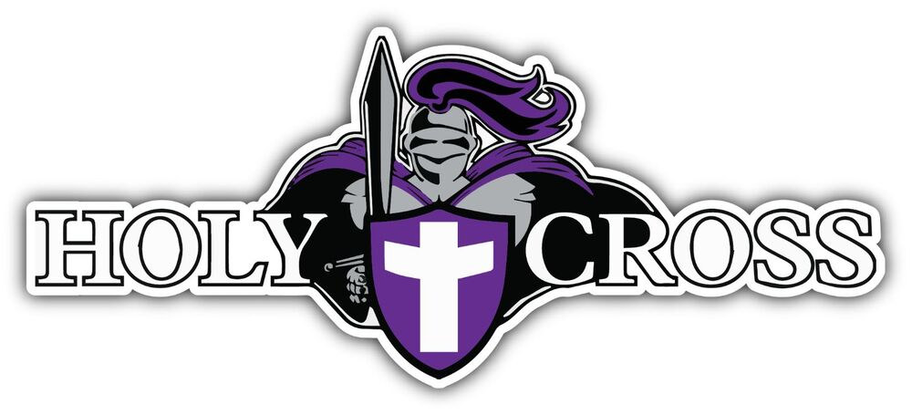 Holy Cross Crusaders College Ncaa Car Bumper Vinyl Sticker