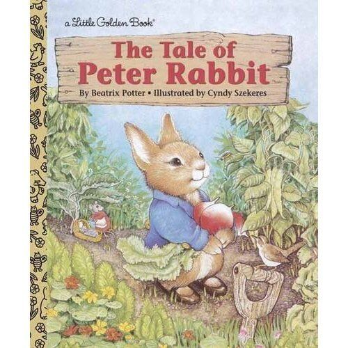 the tale of peter rabbit little golden book hardcover beatrix potter new 307030717 ebay. Black Bedroom Furniture Sets. Home Design Ideas