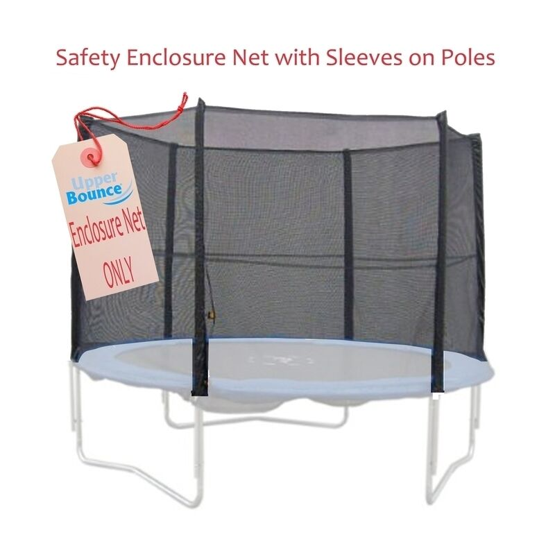 12 Trampoline Enclosure Safety Net Fits For 12 FT. (poles