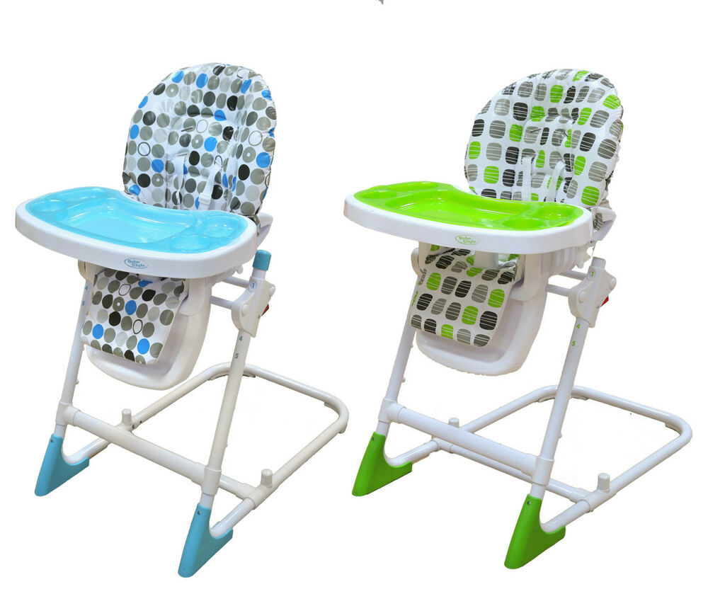 Bebe style modern foldable baby recline highchair height for Chaise haute solde