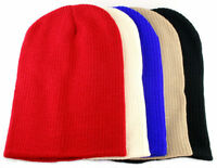 Knitted Slouch Oversized Baggy Winter Beanie Hat Mens/Ladies 5 Colours