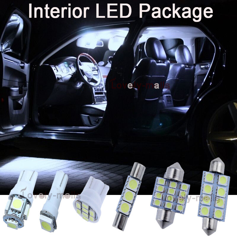 white smd car bulb light interior led package kit for toyota corolla 2002 2016 ebay. Black Bedroom Furniture Sets. Home Design Ideas