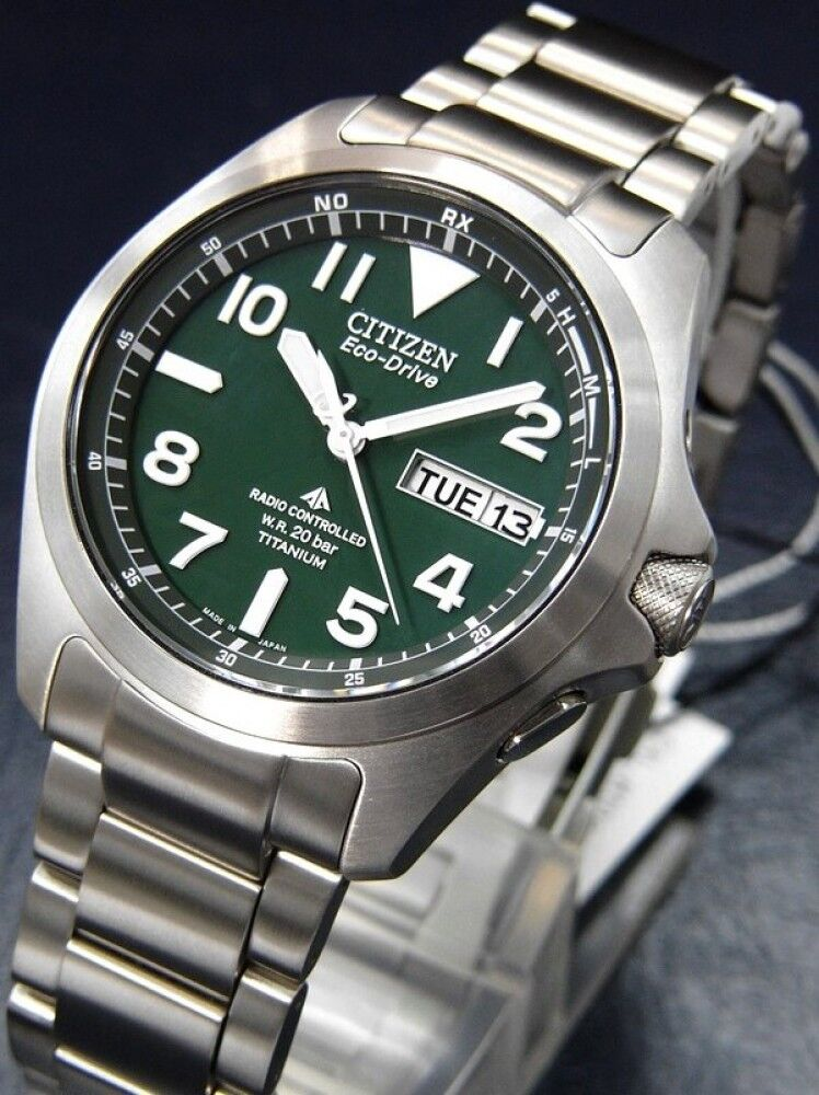 Citizen promaster land eco drive titanium watch pmd56 2951 20bar from japan new ebay for Watches japan