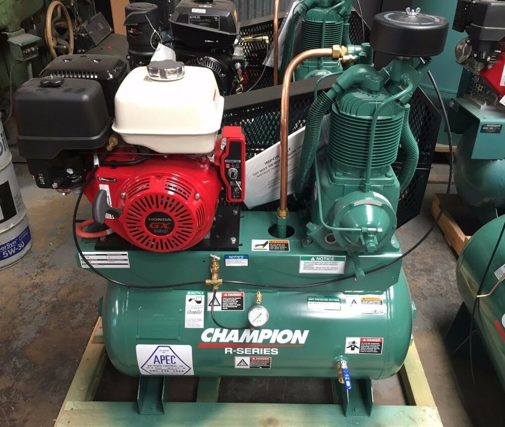 Champion Hgr7 3h 30 Gallon 13hp Honda Gas Air Compressor
