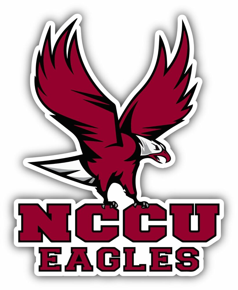 Nccu Eagles University College Ncaa Car Bumper Vinyl