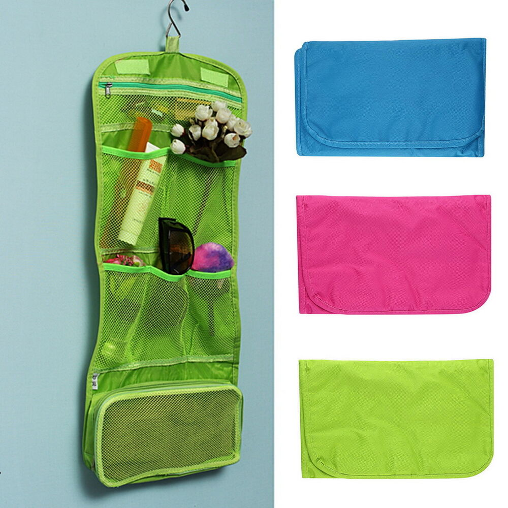 Hanging Toiletry Travel Bag Organizer