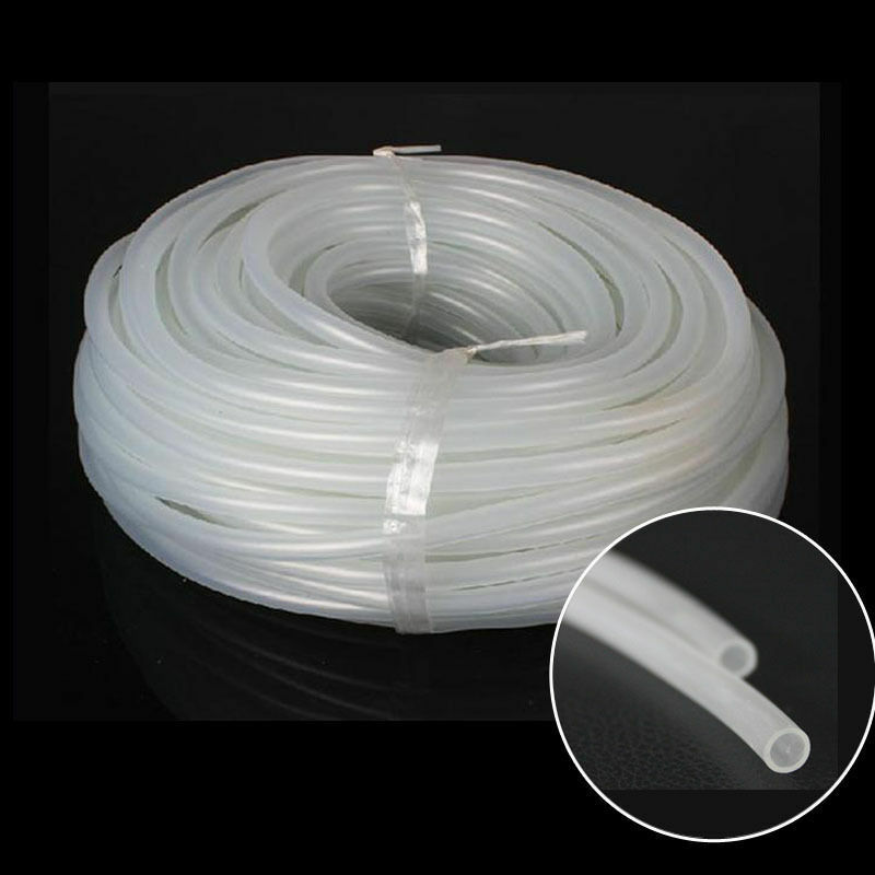 10 meter 4mm silicone oxygen air line tubing for pump fish for Fish tank oxygen