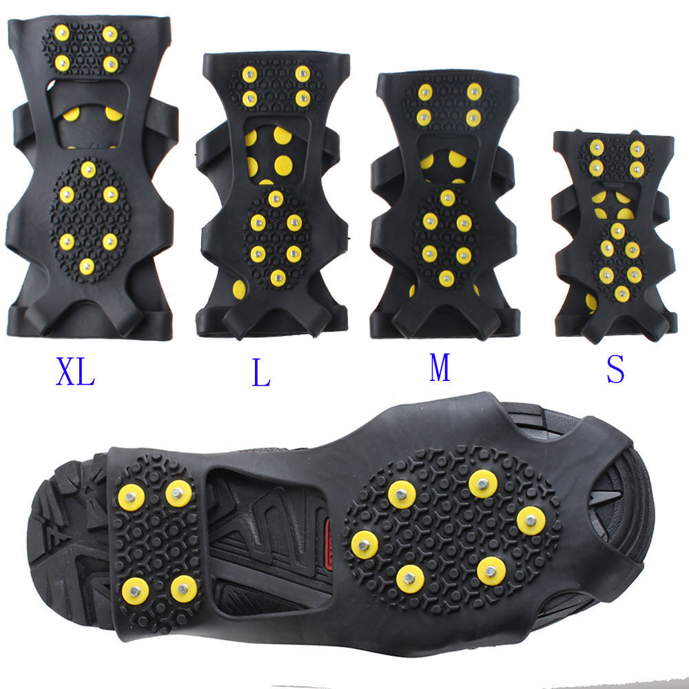 non slip snow cleats anti slip overshoes studded