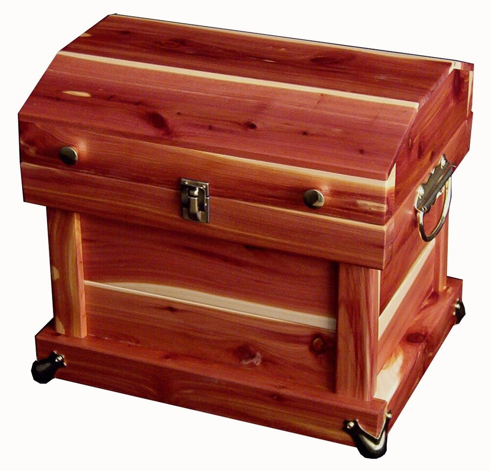 Hope Chests Wooden Handcrafted ~ Amish handcrafted quot cedar chest trunk dome top solid