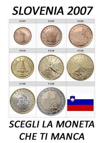1 cent 2 euro 2007 slovenia slowenien slovenie eslovenia fdc unc ebay. Black Bedroom Furniture Sets. Home Design Ideas