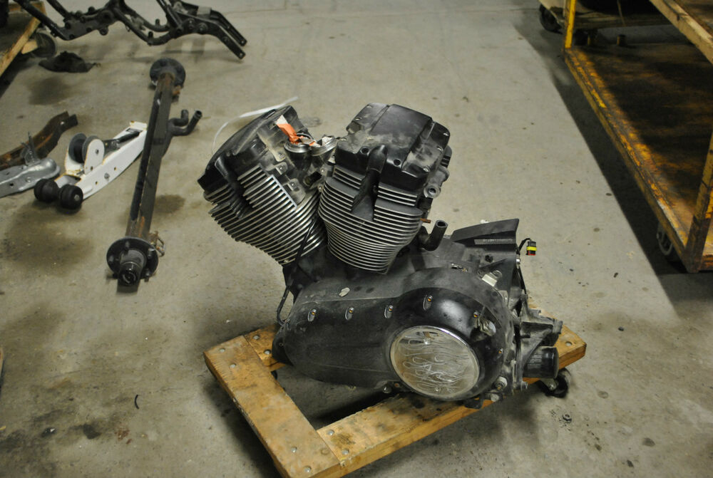 10 2010 victory vegas 8 ball engine motor 12k miles runs for Ebay motors las vegas
