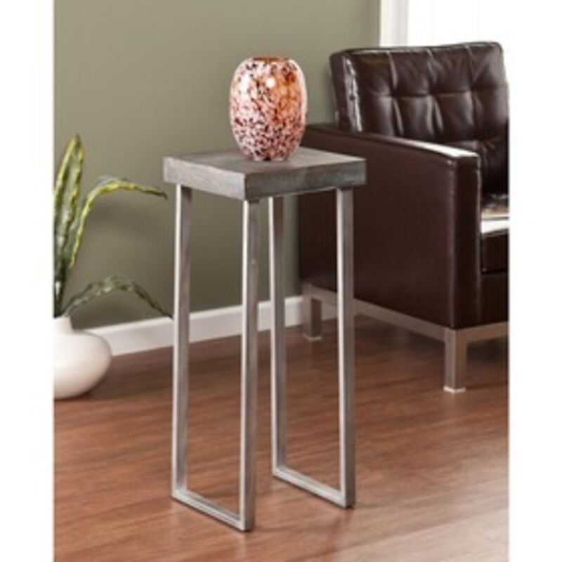 side table for living room southern enterprises nolan pedestal accent table oc4044 18877