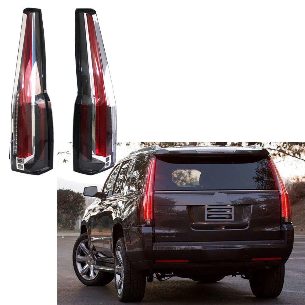 Tail Lights Led Rear Lamp Brake Cadillac Escalade Style