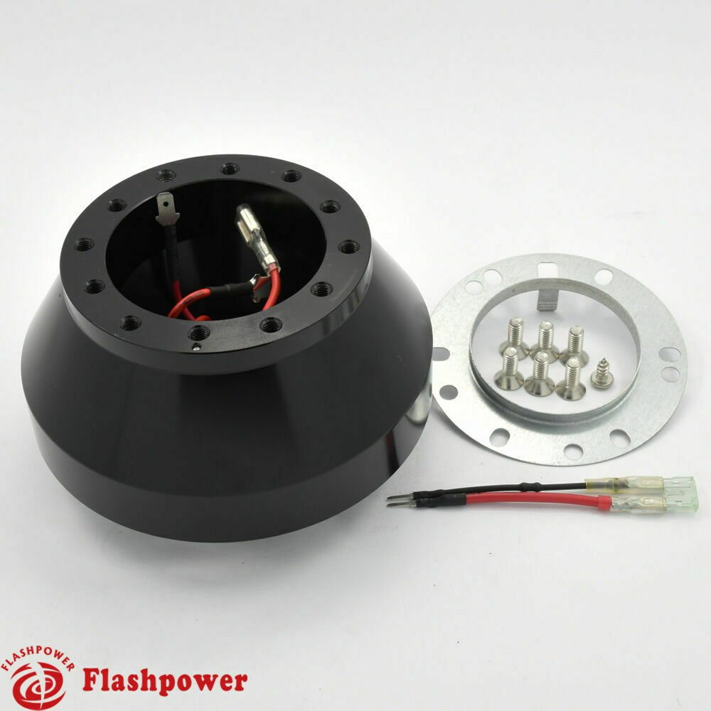 Flashpower Steering Wheel Adapter Bmw E46 328i 323i 330i M3 Mini Cooper Black Ebay