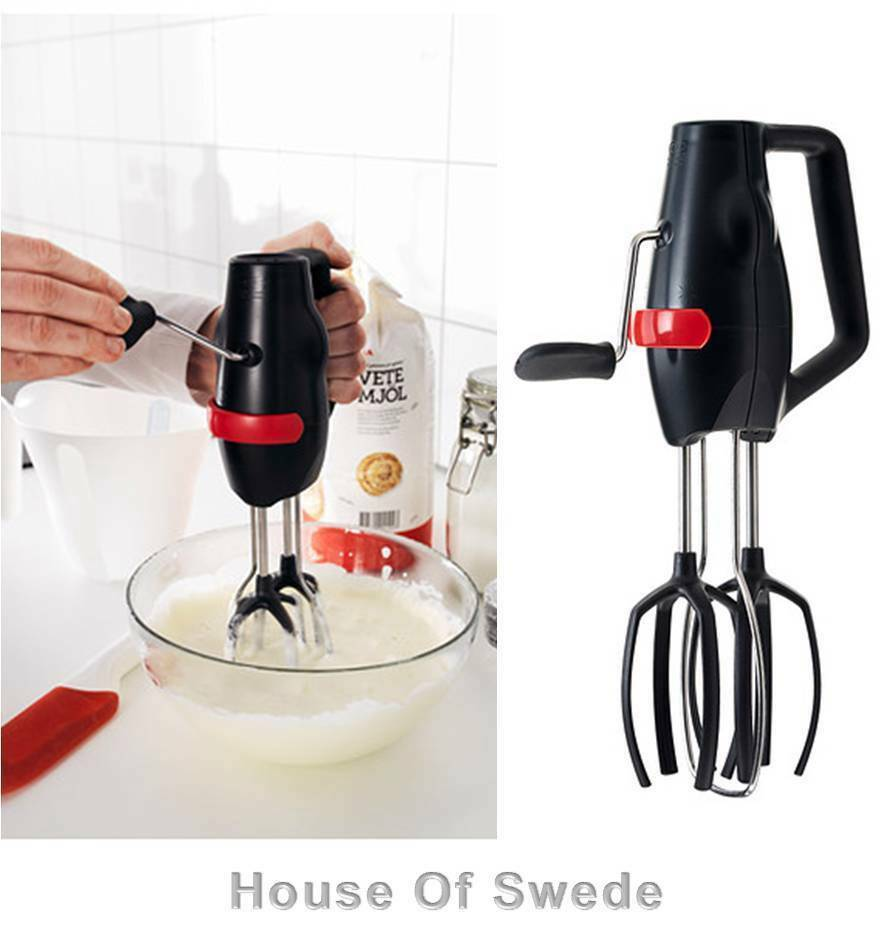 hand held mixer ikea jamforlig held manual whisk mixer stirrer baking 13089