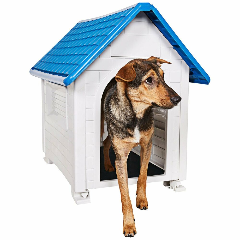 New durable dog house all weather resin doghouse pet for All weather dog kennels