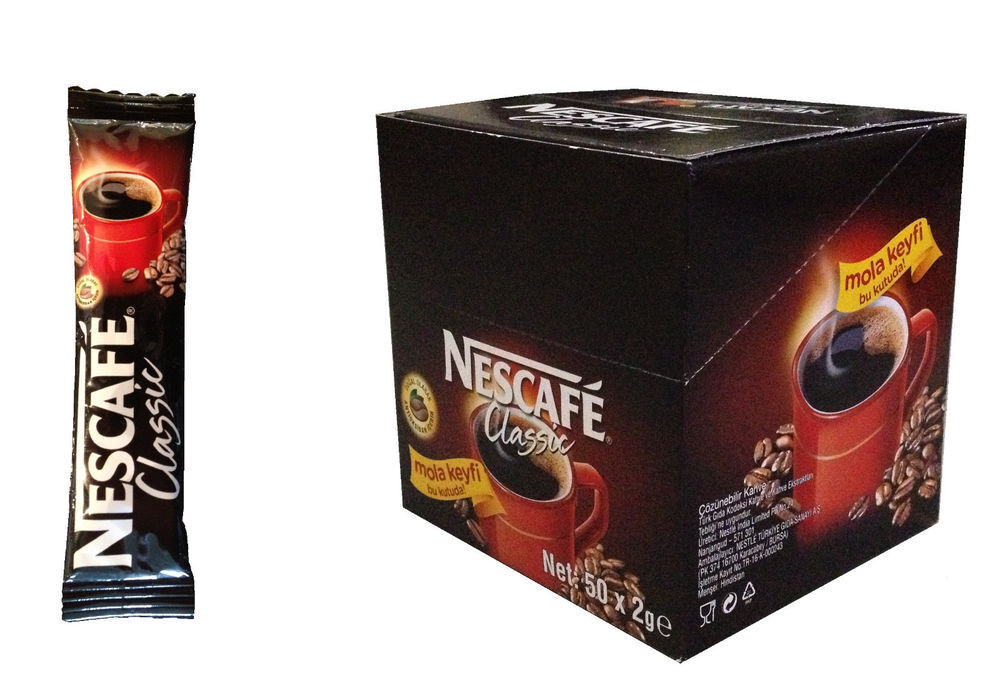 Nescafe packets