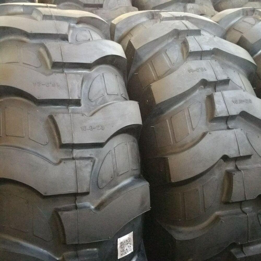 Tractor Rims 16 9 24 : Tires ply r rear backhoe industrial