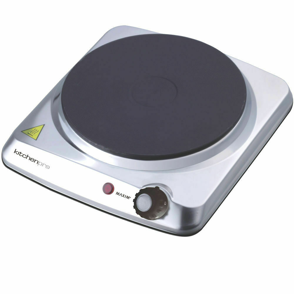 Portable Electric Cooker ~ Maxim portable single electric hot plate cooker hotplate