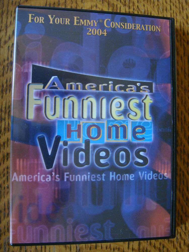 Americas Funniest Home Videos 2004 Emmy Dvd Abc 300th