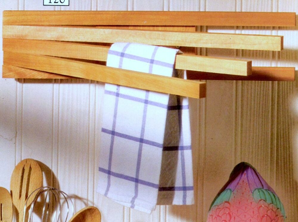 Wooden Swing Arm Towel Rack Towel Racks Made In The Usa Hard Wood Ebay