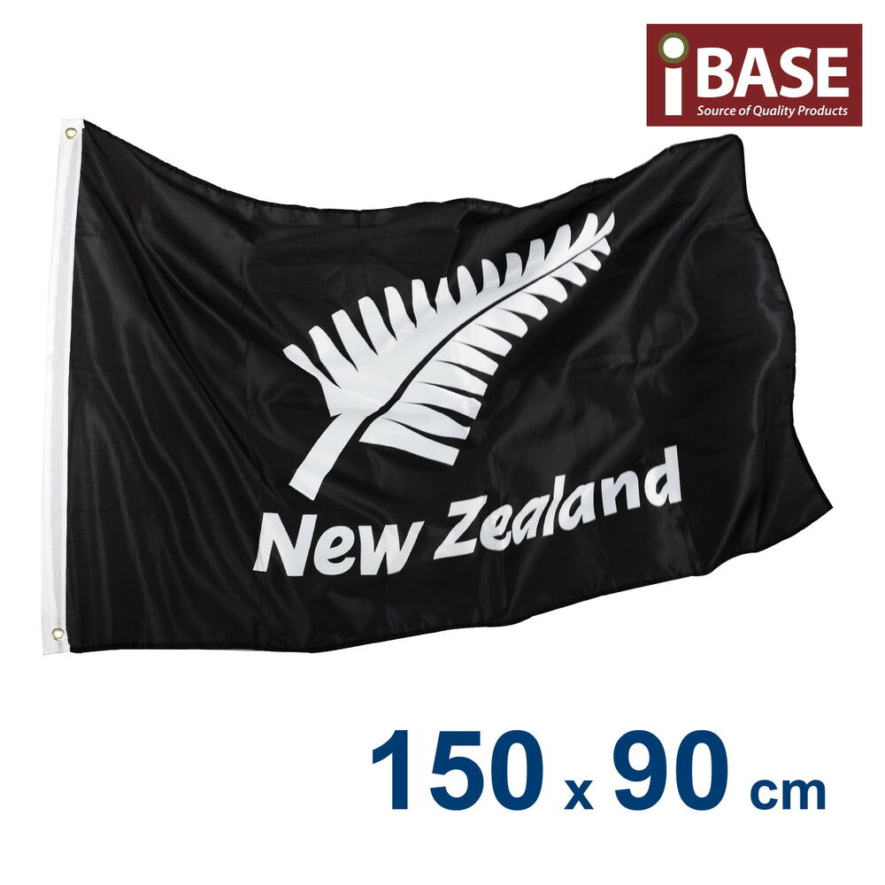 new zealand silver fern kiwi maori aotearoa rugby nz flag 150x90cm 5x3ft ebay. Black Bedroom Furniture Sets. Home Design Ideas
