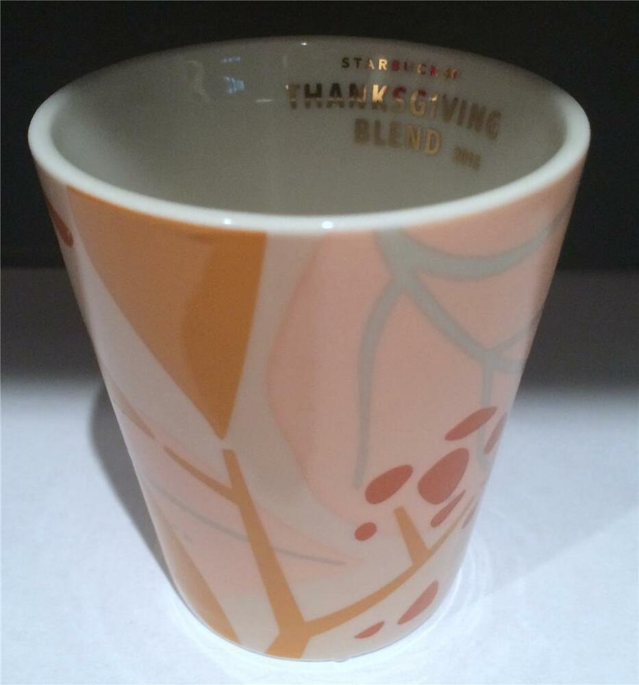 Starbucks 2015 Thanksgiving Limited Ed 3oz Espresso