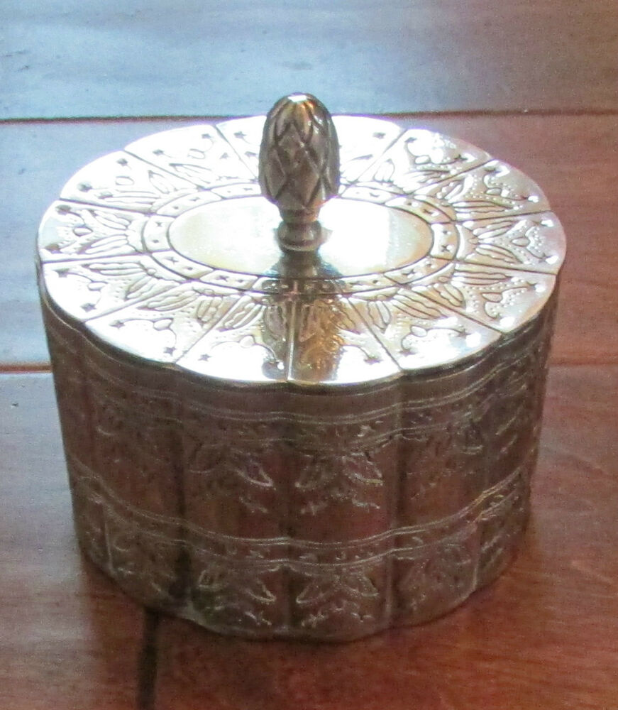 Vintage antique metal jewelry boxes not meaningful