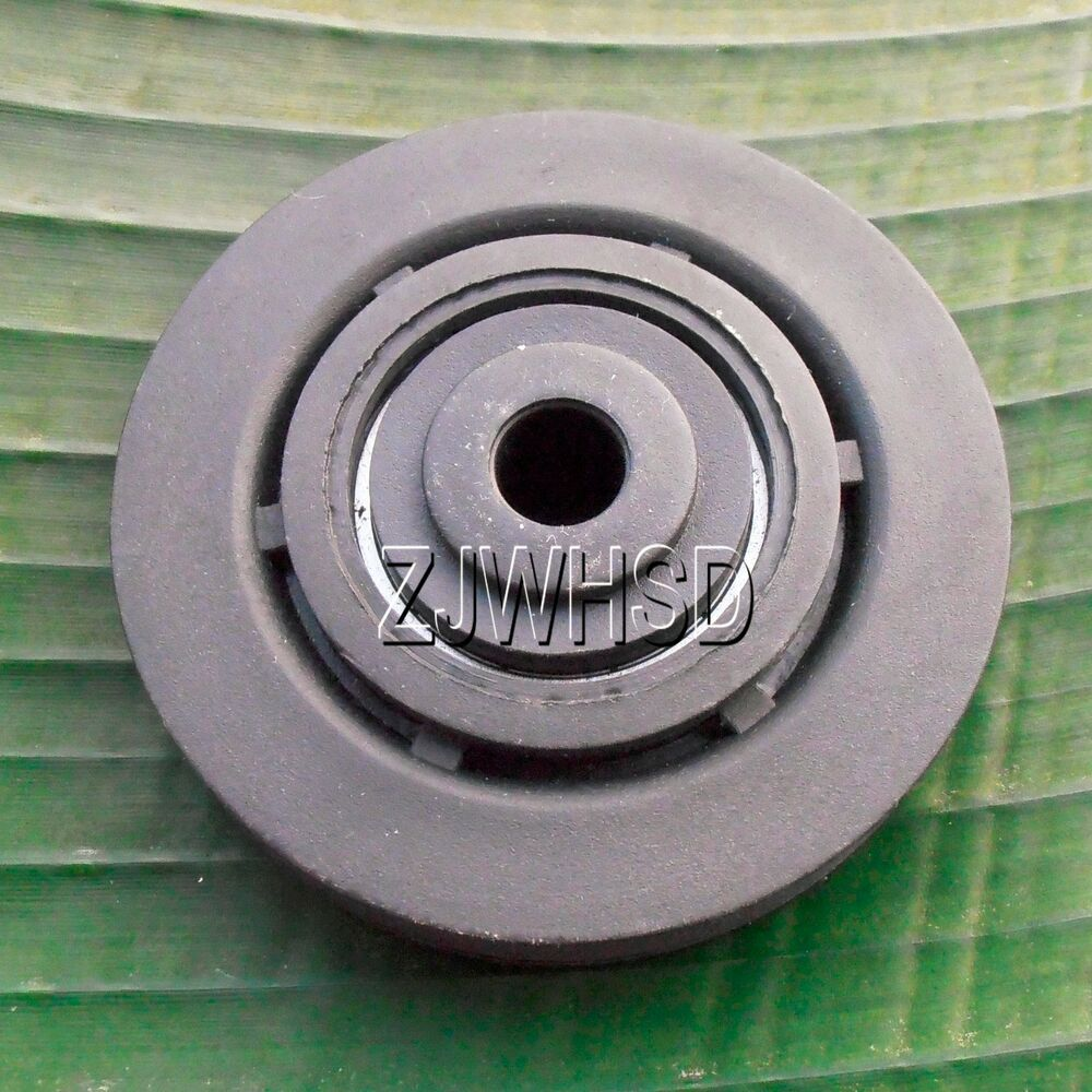 """Fitness Equipment Parts: Universal 73mm 3"""" Nylon Bearing Pulley Wheel Cable Gym"""