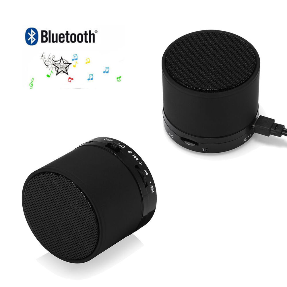bluetooth wireless stereo speaker mini bass portable