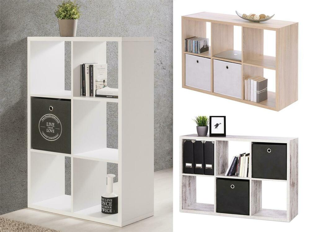 regal raumteiler schrank raumtrenner holzregal standregal wandregal mareen i ebay. Black Bedroom Furniture Sets. Home Design Ideas