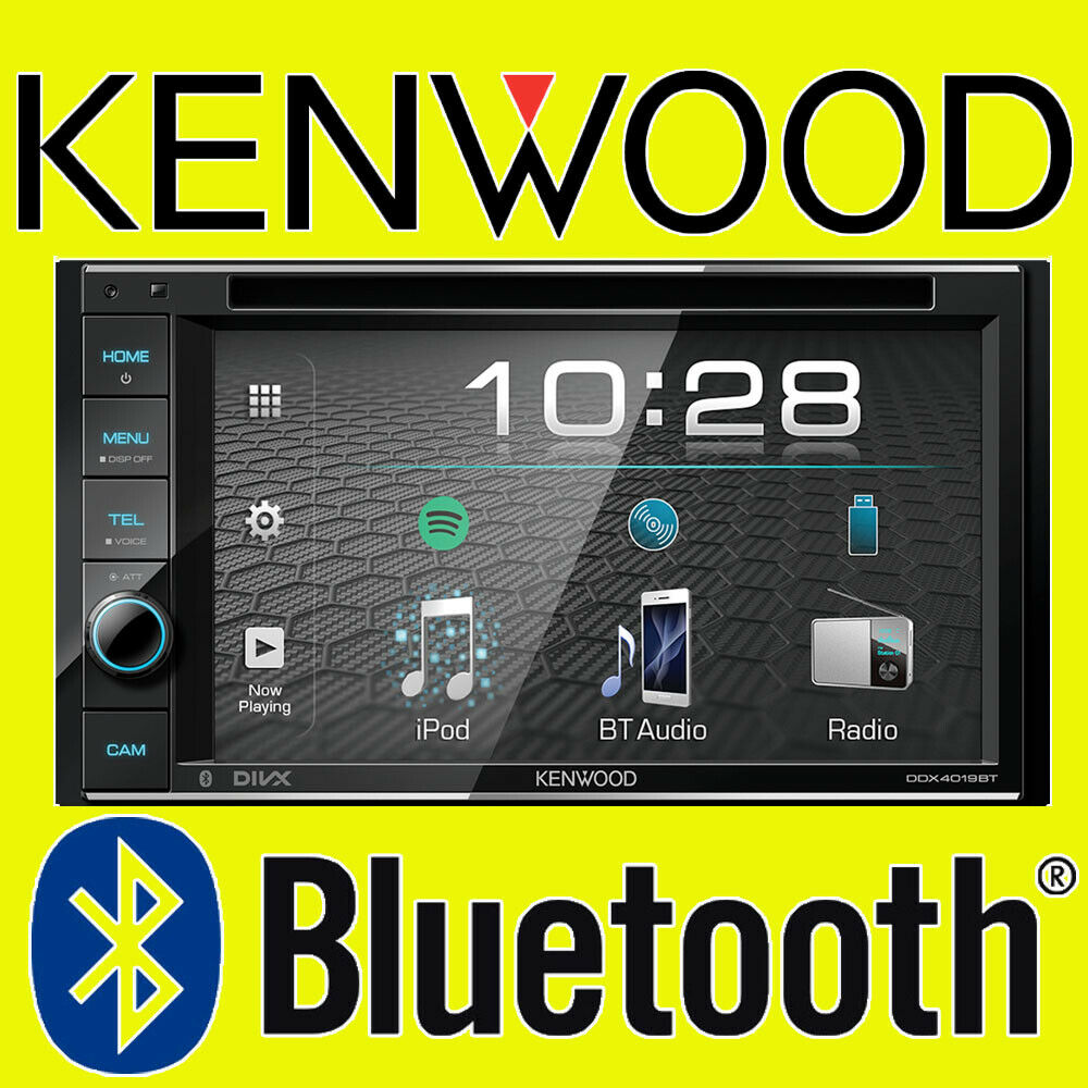 Kenwood Car CD DVD USB Double Din Stereo Bluetooth IPhone