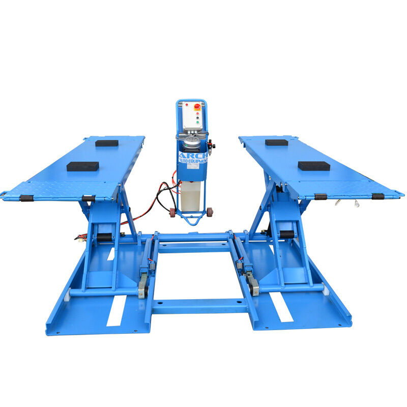 Portable Mid-Rise Scissor Car Hoist, Car Lift, Tyre Shop ...