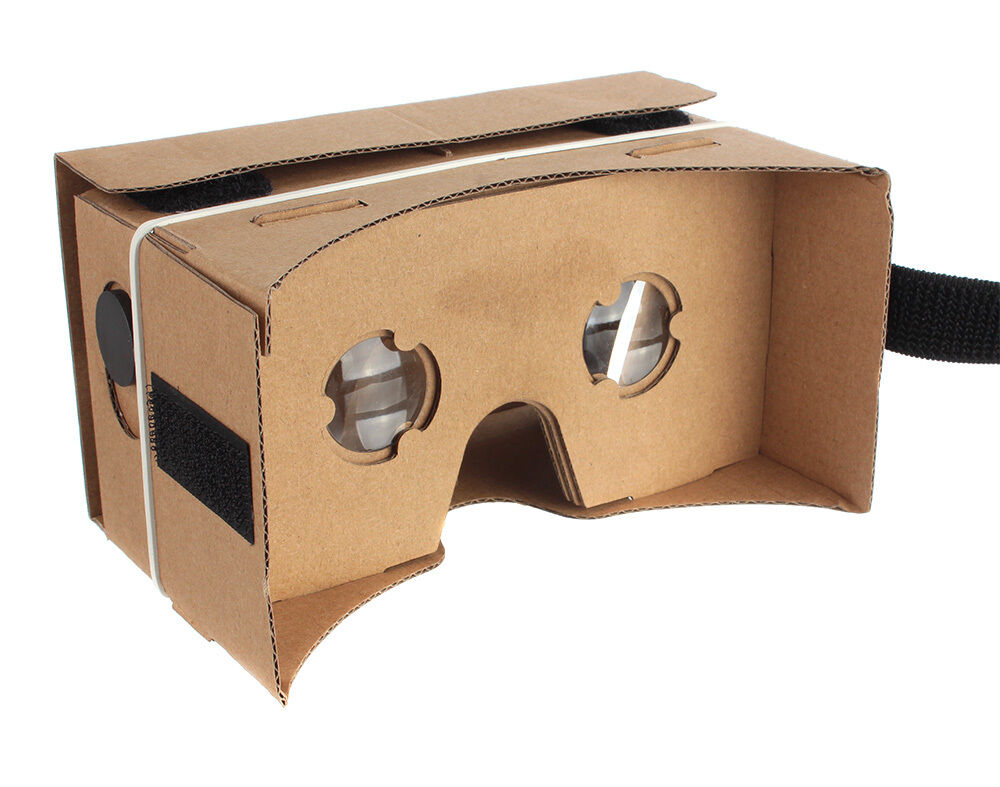 google cardboard 3d vr virtual reality brille box glasses. Black Bedroom Furniture Sets. Home Design Ideas