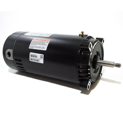 Ao smith swimming pool motor ust1152 c face round flange 1 for Ao smith 1 1 2 hp pool motor