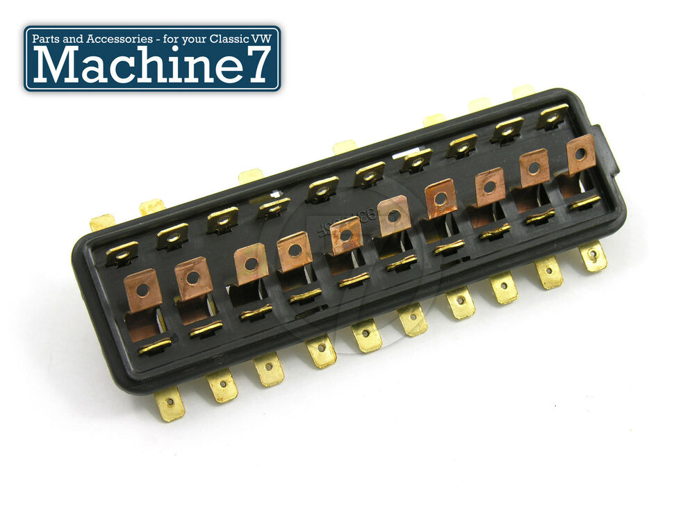Classic Vw Beetle Wiring Fuse Box 10 Point For Fuses Bug