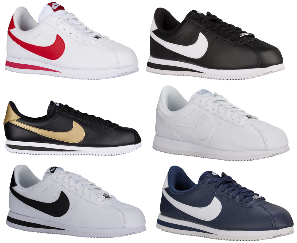 new nike cortez running lifestyle shoes sneakers leather. Black Bedroom Furniture Sets. Home Design Ideas