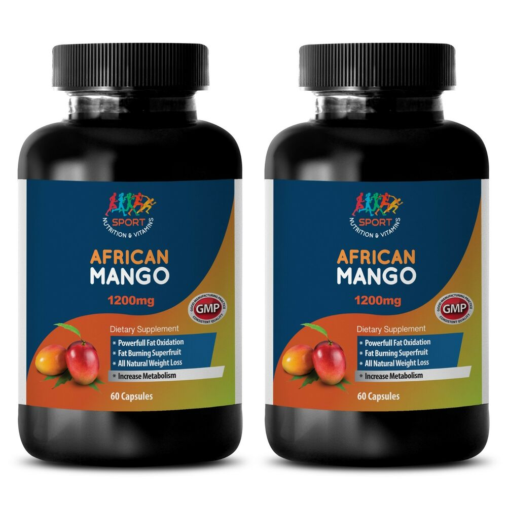 african mango 1200 appetite suppressant cleanse extract 2 bottles 120 capsules ebay. Black Bedroom Furniture Sets. Home Design Ideas