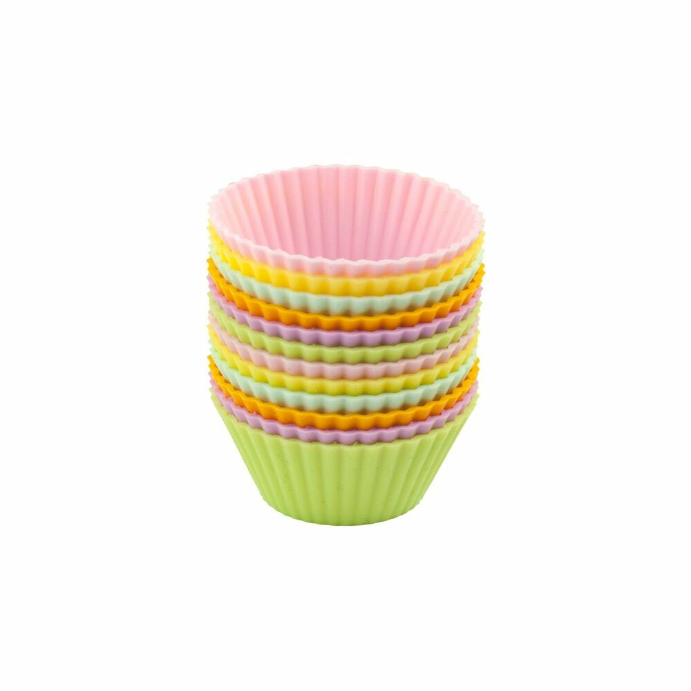 Casabella Mini Silicone 2 Quot Muffin Cupcake Cups Set Of