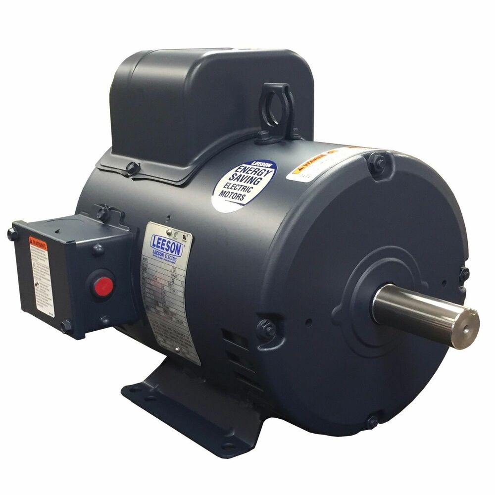 Leeson 7 5 Hp Electric Motor 3450 Rpm 184t