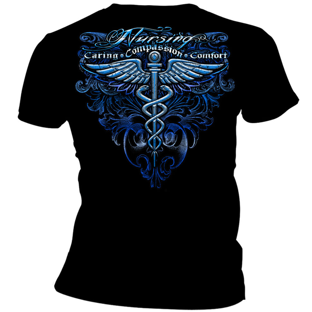 Products caring compassion comfort nurse shirt