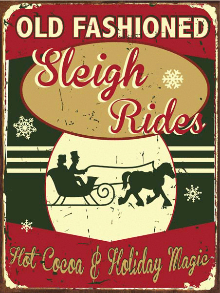 In A New Old Fashioned Sleigh