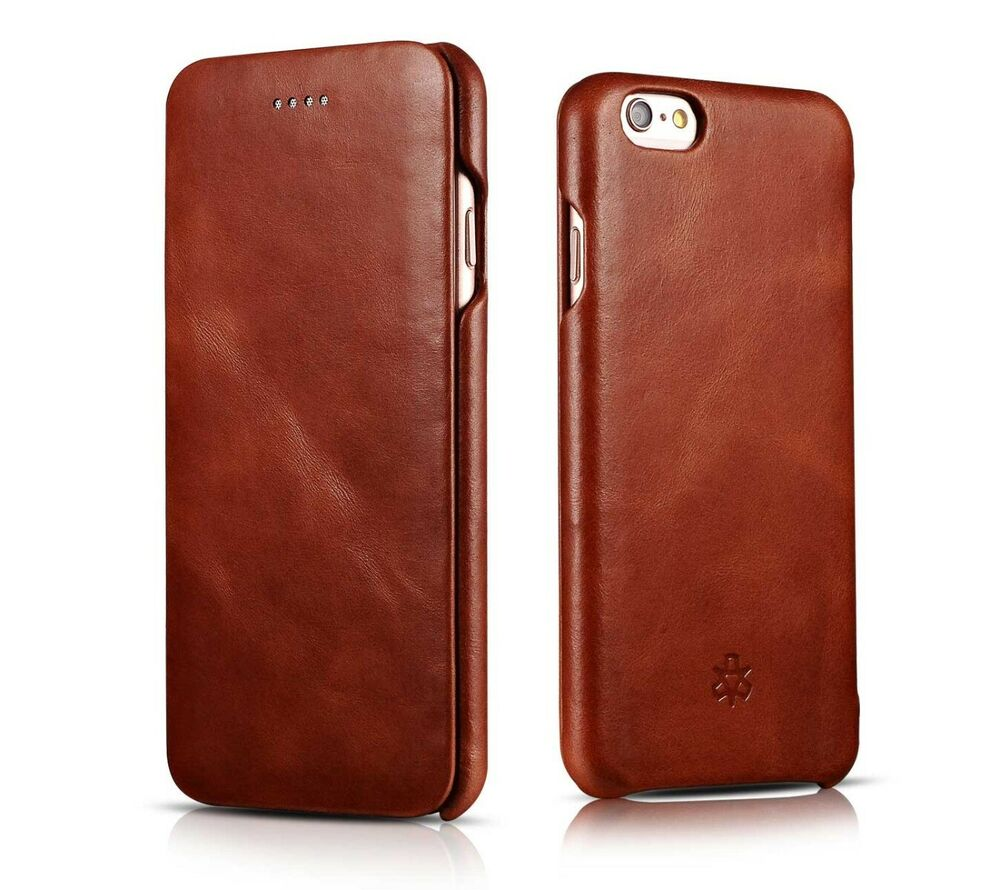 iphone 6 phone covers novada genuine vintage leather flip cover for iphone 3077