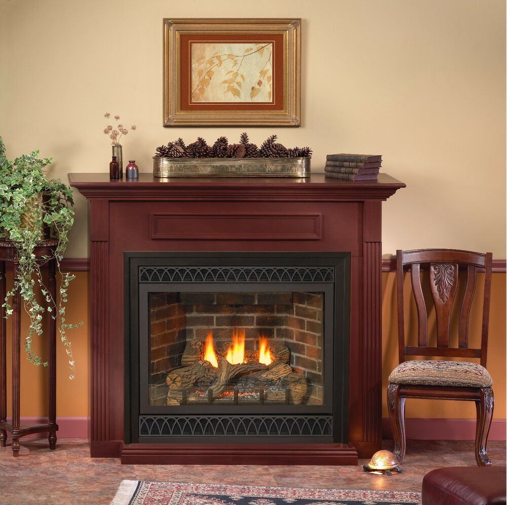 Empire White Mountain Hearth Tahoe Deluxe Direct Vent Gas